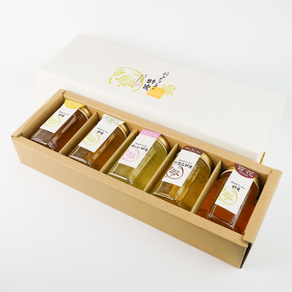 菜の花蜂蜜  大雪山蜂蜜 れんげ蜂蜜 白花豆蜂蜜 百花蜂蜜 種田養蜂場