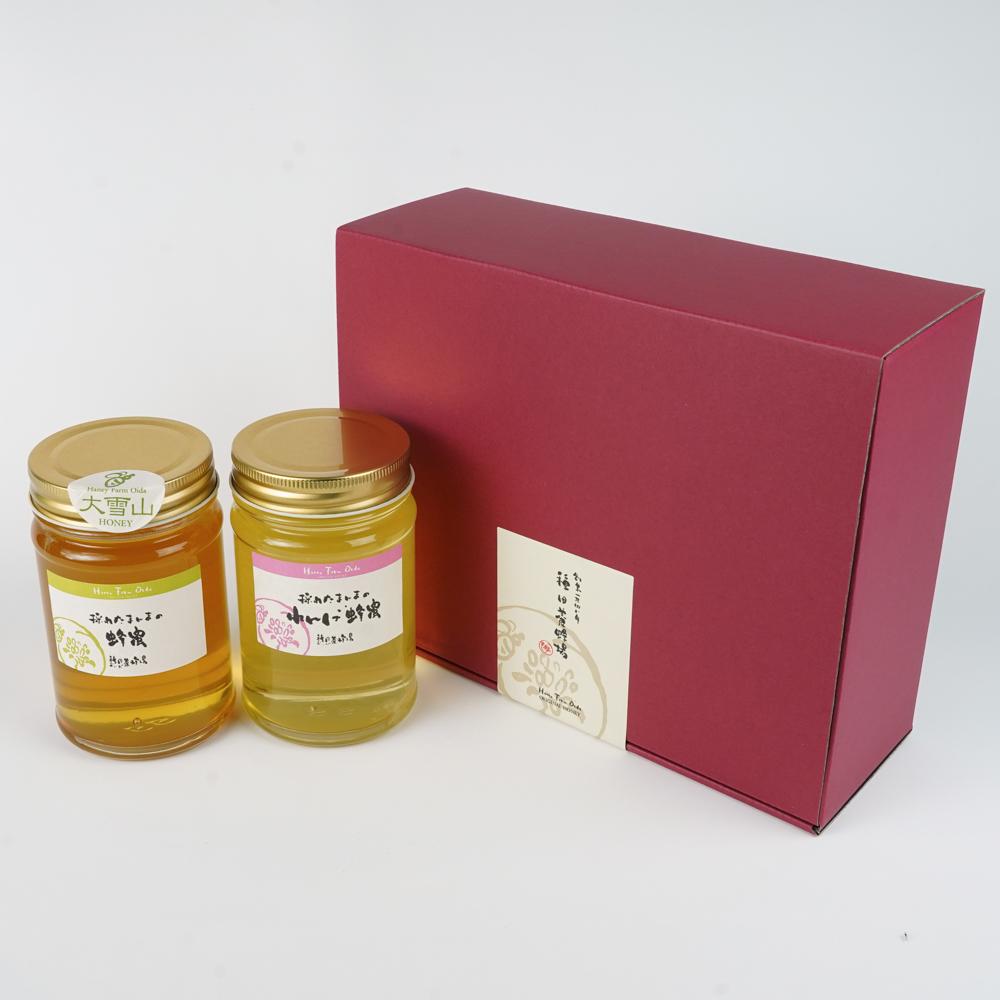 大雪山蜂蜜 れんげ蜂蜜 蜂蜜ギフト 種田養蜂場